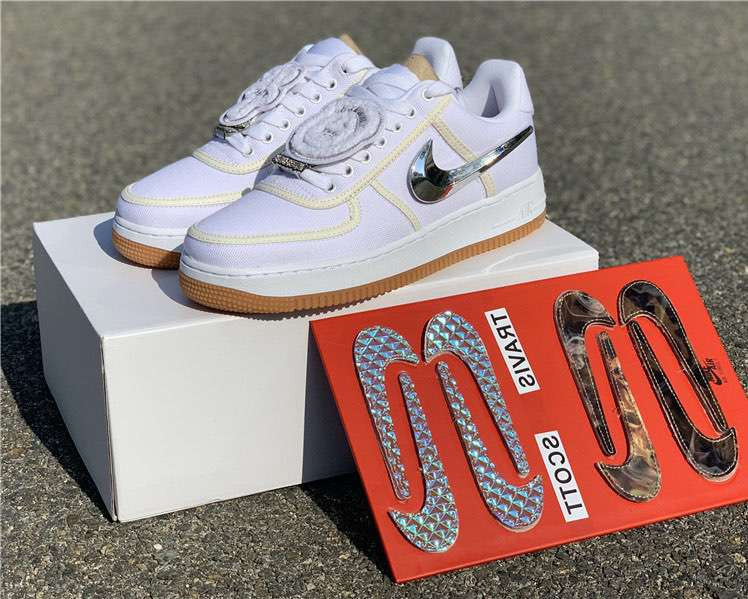Кроссовки Air Force 1 Low Travis Scott